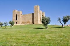 Sadaba Castle, Zaragoza (Spain) Stock Images