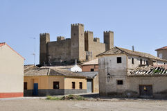 Sadaba, Zaragoza  (Spain) Stock Image