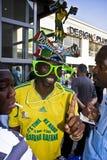 Saddam dans Vuvuzela Makaraba Image libre de droits