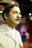 Saddam hussein wax figure Royalty Free Stock Image