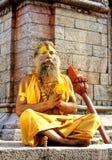 saddhu του Νεπάλ στοκ φωτογραφίες