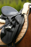 Saddle Royalty Free Stock Photo