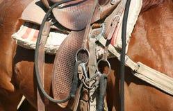 Saddle Royalty Free Stock Photo