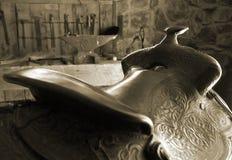 Saddle Royalty Free Stock Photography
