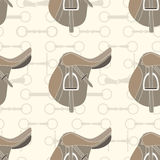 Saddle Background Royalty Free Stock Image