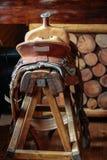 Saddle bar stool Stock Photography