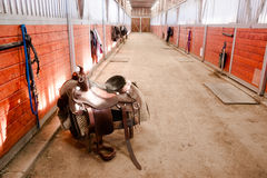 Free Saddle Center Path Horse Paddack Equestrian Riders Stable Stock Photos - 50872333