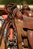 Saddle gear stock image