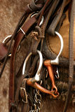 Saddle gear stock photo