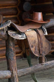Saddle for horse Royalty Free Stock Photo