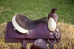 Saddle Stock Photo