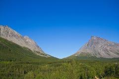 Saddle mountain Royalty Free Stock Image