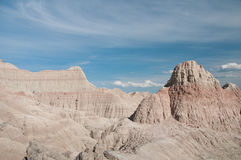 Saddle Pass, Badlands National Park Royalty Free Stock Photo