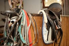 Saddle Stock Photography