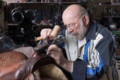 Saddle Repair royalty free stock images