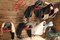 Saddle room Royalty Free Stock Photo