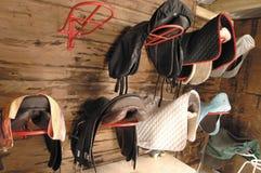 Saddle room Royalty Free Stock Photo