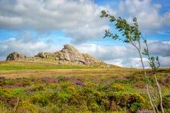 Saddle Tor in Dartmoor, Devon UK. Saddle Tor in Dartmoor, Devon, UK royalty free stock photography