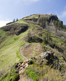 Saddleback Mountain. In Western Oregon with grand meadows of green and rocky ledges Stock Photo
