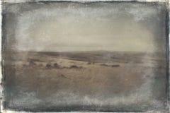 Saddleworth hed arkivbild