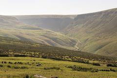 Saddleworth Moor Peak District National Park Stock Photography