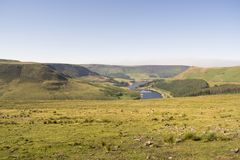 Saddleworth Moor Peak District National Park Royalty Free Stock Photography
