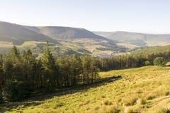 Saddleworth Moor Peak District National Park stock images