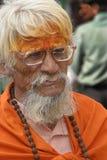 Saddu mit unterbrochenen Gläsern Stockbilder