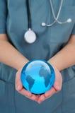 Saúde do mundo Fotografia de Stock