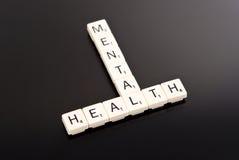 Saúde mental Foto de Stock
