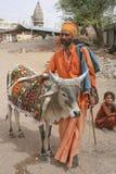 Sadhu, święty mężczyzna Fotografia Stock
