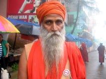Sadhu-μοναχός από τα Ιμαλάια Στοκ εικόνες με δικαίωμα ελεύθερης χρήσης