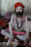 sadhu μπαμπάδων Στοκ Εικόνα