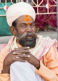 Sadhu, святой человек Стоковое Фото