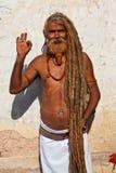 Sadhu (圣洁者) 免版税库存照片