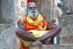 Sadhu Royalty Free Stock Images