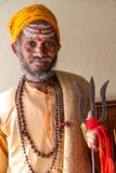 Sadhu Royaltyfria Bilder