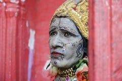 Sadhu av Pushkar Arkivfoton