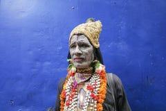 Sadhu av Pushkar Arkivfoto