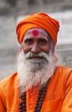 Sadhu de Shaiva en Varanasi Foto de archivo libre de regalías