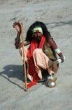 Sadhu en la India foto de archivo libre de regalías