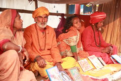 Sadhu heiliger Mann Lizenzfreies Stockfoto