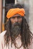Sadhu, heiliger Mann Lizenzfreies Stockfoto