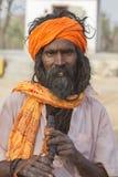Sadhu, heiliger Mann Stockbild