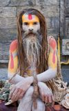 Sadhu (heiliger Mann) Stockfotografie