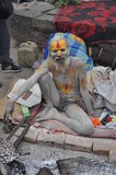 Sadhu (heiliger Mann) von Indien Lizenzfreie Stockbilder