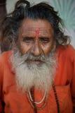 Sadhu hindú Imágenes de archivo libres de regalías