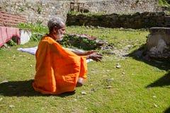Sadhu hindú imagenes de archivo