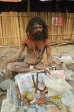 Sadhu Hindu em India. imagens de stock royalty free