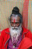 Sadhu Hindu em India foto de stock royalty free